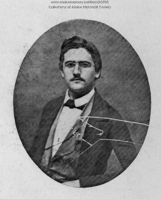 Hermann Kotzschmar, Portland, ca. 1849
