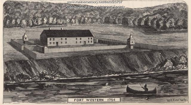 Fort Western, 1754