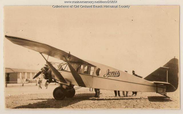 Bellanca, Old Orchard Beach, 1930
