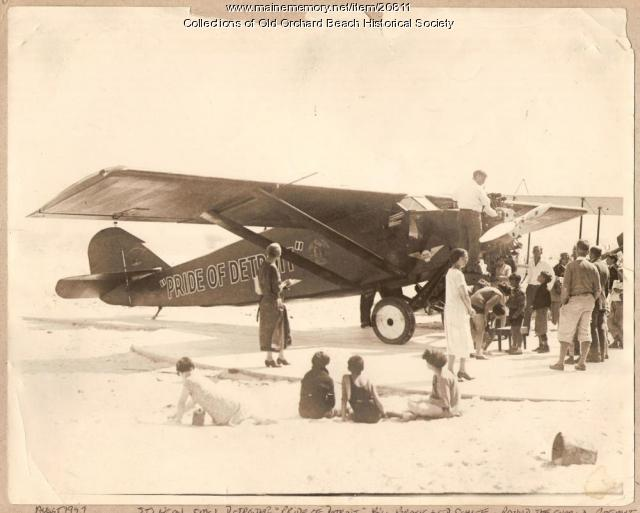 'Pride of Detroit,' Old Orchard Beach, 1927