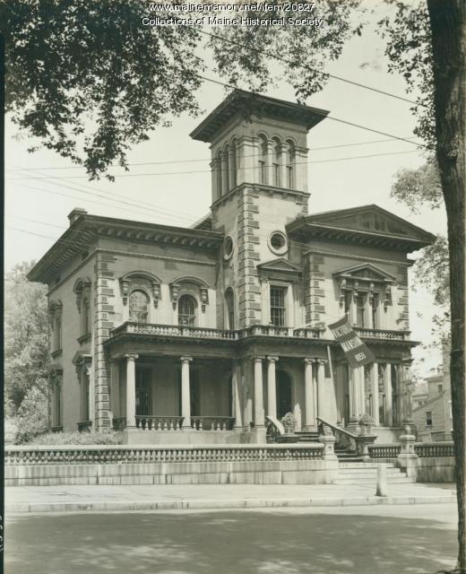 Morse-Libby Mansion, Portland