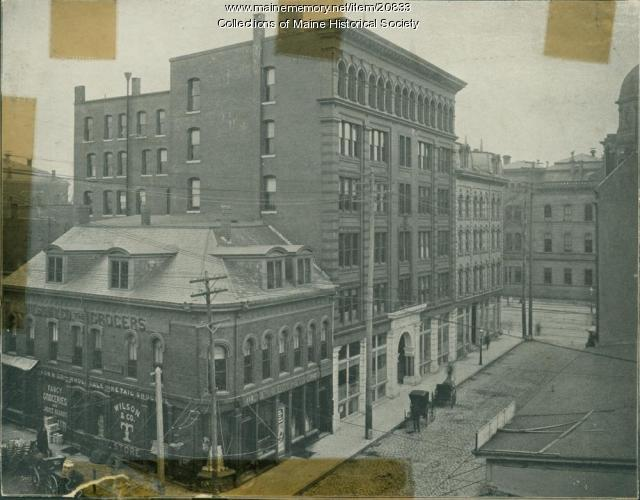 Wilson & Co., Exchange Street, Portland, ca. 1890