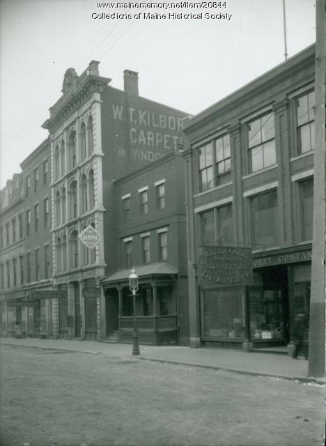 Free Street, Portland, 1904