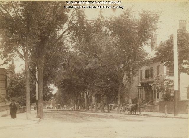 High Street, Portland, ca. 1900