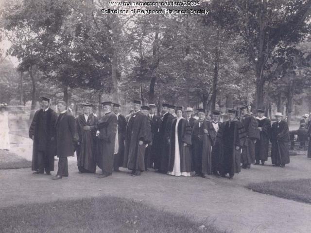 Bowdoin Graduation, 1904