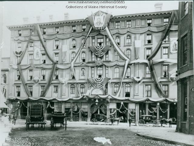 Falmouth Hotel Portland Ca 1871