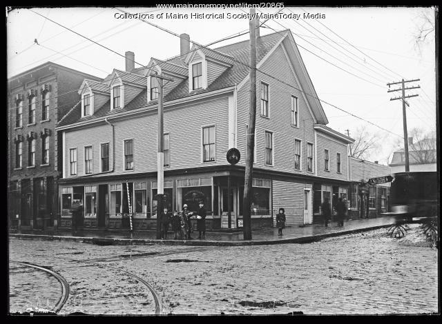 Italian bank, Portland, 1923