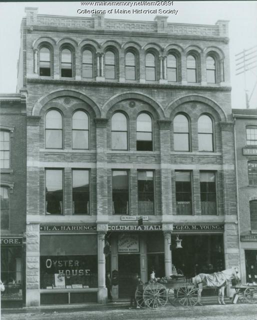 Choate Block, Portland, 1892