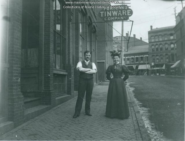 Portland Tinware, ca. 1895