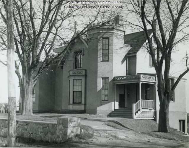 Payson house, Portland, ca. 1950