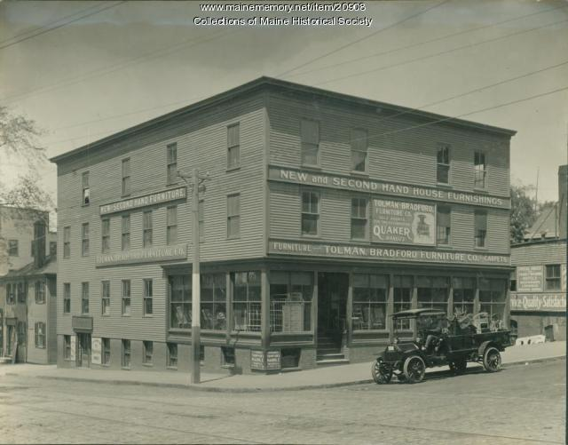 Tolman bradford furniture co portland ca 1915 maine for Furniture history society