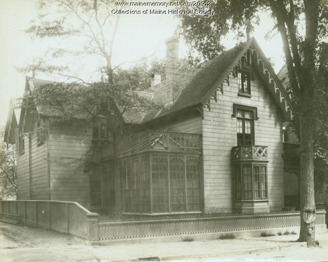Jewett house, Portland, ca. 1900