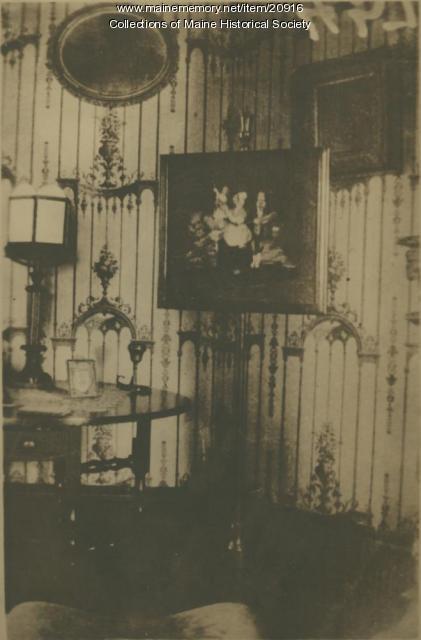 Fire screen, Portland, ca. 1900