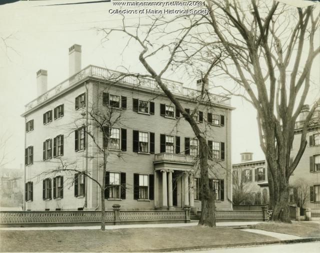 Shepley house, Portland, ca. 1920