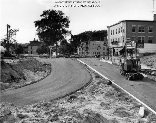 East Deering Bypass, Portland, 1954