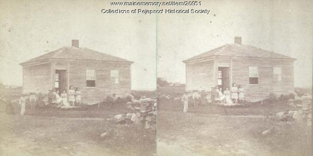 North Harpswell school, ca. 1880