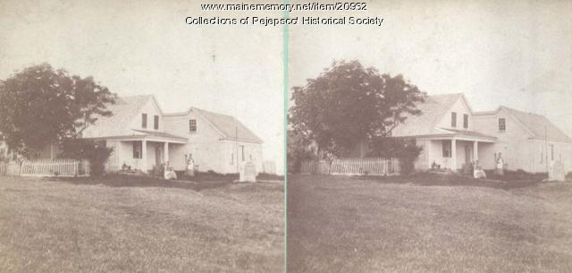 Harpswell Scenery - Harpswell Center, ca. 1880
