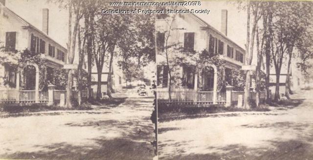 Main Street, Topsham, ca. 1880