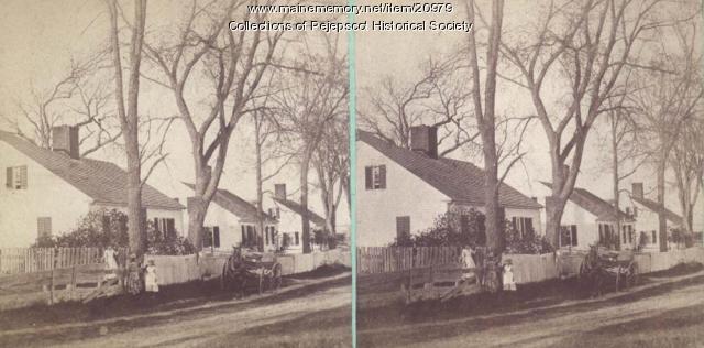 Topsham Scenery - Summer Street, ca. 1880