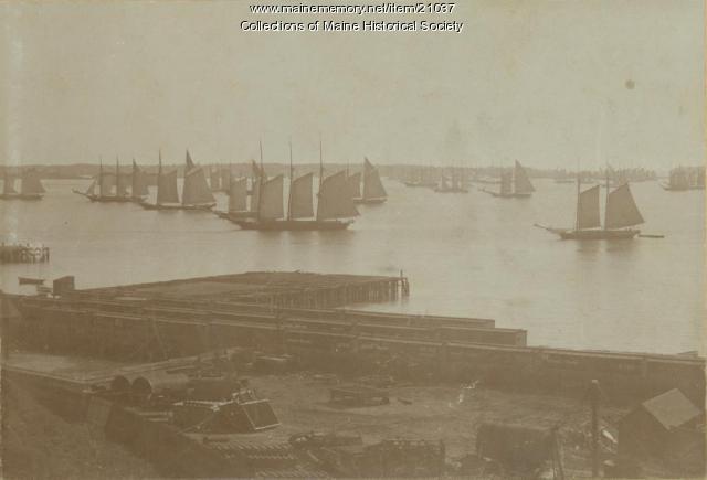 Portland Harbor, 1895