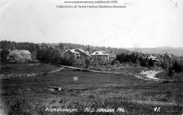Harbourside, Northeast Harbor, circa 1912