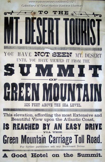 Green Mountain Advertisement