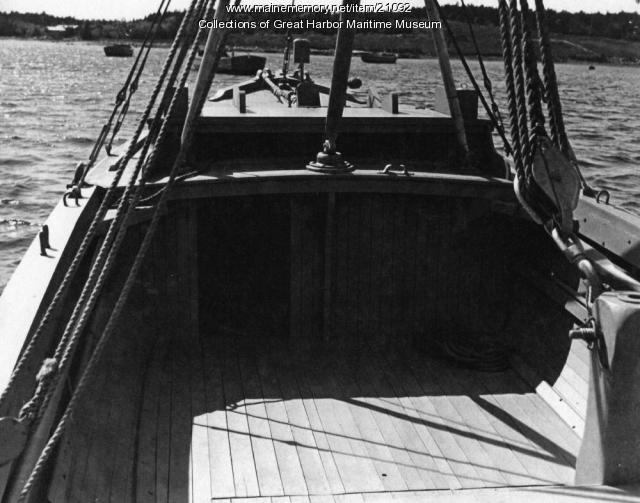 Buoy Tender built by Mt. Desert Yacht Yard