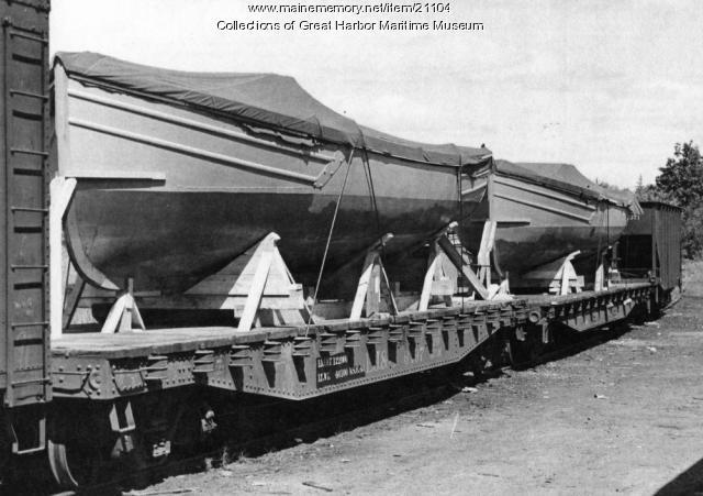 Buoy Boats, Mount Desert, ca. 1943