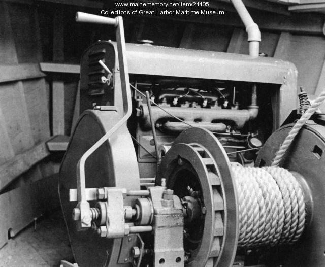 Winch on 38' Buoy Boat, ca. 1943