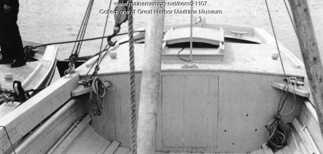 Stern Area of Buoy Boat, ca. 1943