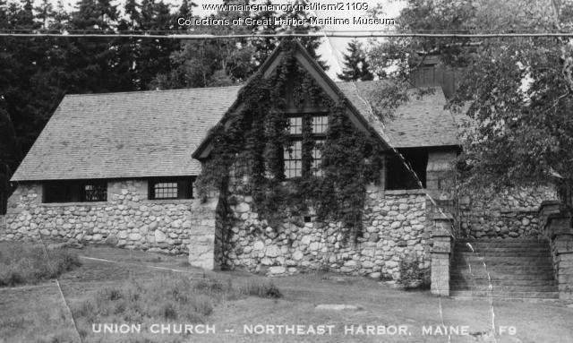 Union Church of Northeast Harbor, ca. 1930