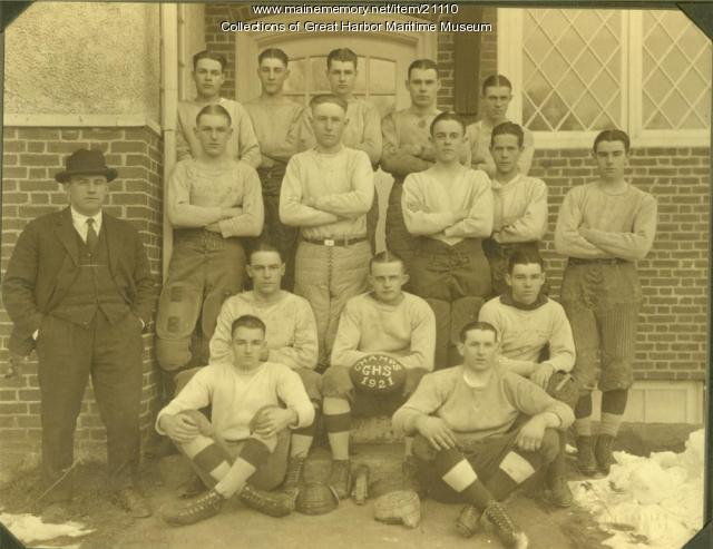 Gilman High School Football Team, 1921
