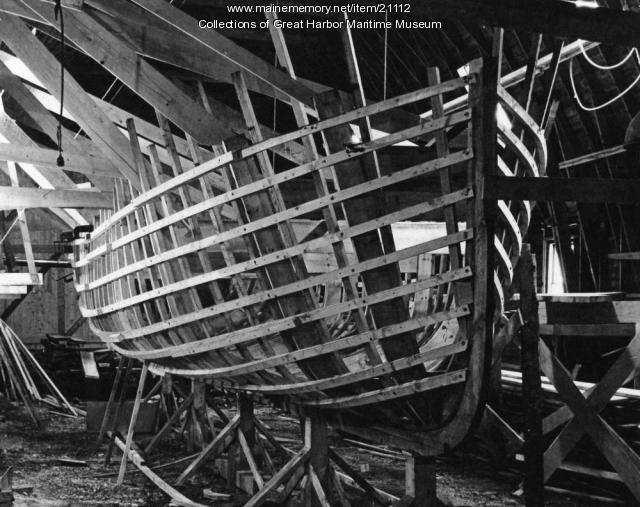 Buoy Boat under Construction, ca. 1943