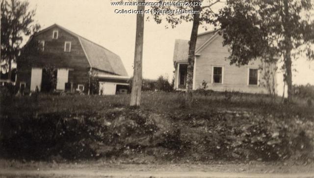 John Carlson farm, Woodland, ca. 1922