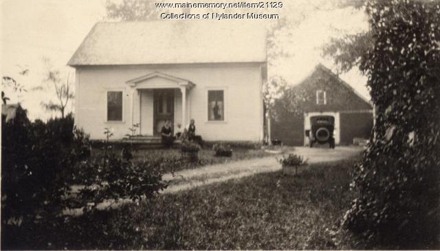 James G. Johnson home, Woodland, ca. 1922