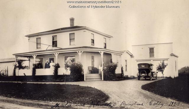 M. Johnson home, Woodland, ca. 1922