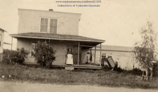 Mrs. Sophia Nelson home, Woodland, ca. 1922