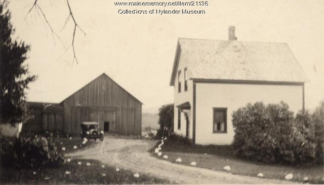 J. Sigfried Nelson farm, Woodland, ca. 1922