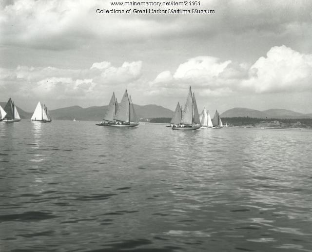 Race, Great Harbor, Mount Desert, ca. 1930