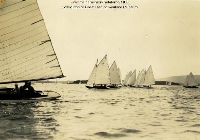 Northeast Harbor Fleet Race, ca. 1930