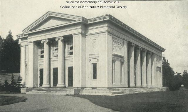 Building of Arts, Bar Harbor, 1915