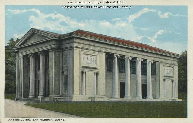 Building of Arts, Bar Harbor, 1918