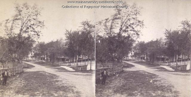 Park Row, Brunswick, ca. 1880