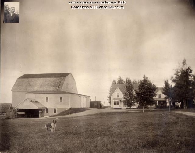 Peter E. Johnson farm, Woodland, ca. 1922