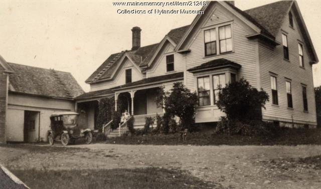 Carl E. Randolph home, Woodland, ca. 1922