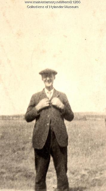 Carl Johnson, Woodland, ca. 1922