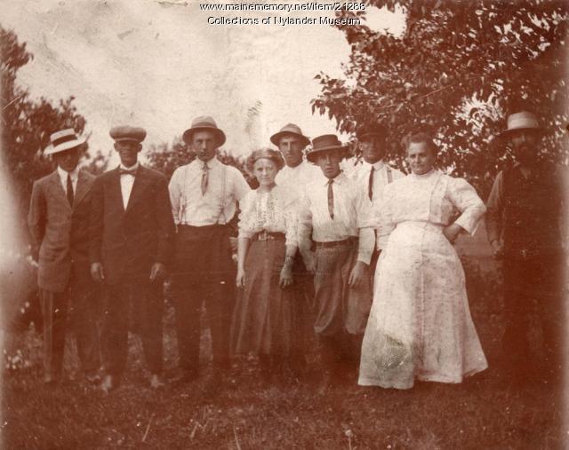 Gustaf Dahlgren family, Perham, ca 1922