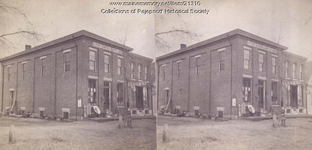 Hardware Store, Brunswick, ca. 1880