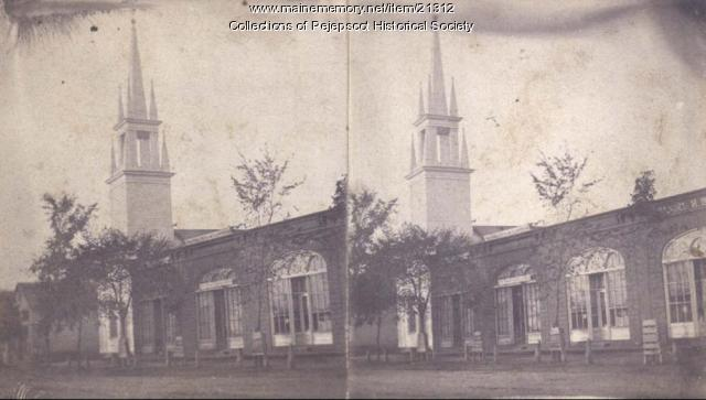 Baptist Church, Brunswick, ca. 1880