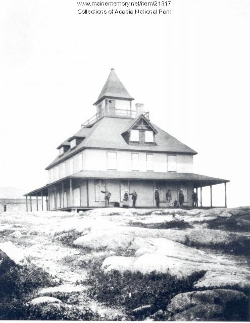 Green Mountain hotel, Mt. Desert Island, ca. 1885